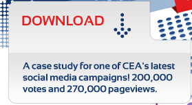 Download a CEA social media case study